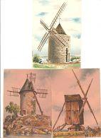 Monuments Et Sites De FRANCE - Lot De 12 CPSM - Neuves - Editions Barré-Dayez - Parfait état - Monuments