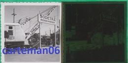 Maroc - Casablanca - Photo Et Négatif - Exposition De Matériel De Travaux Publics - Sodetra Richier Nordest - Africa