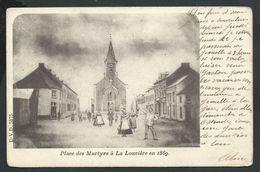 +++CPA - Place Des Martyrs à LA LOUVIERE - DVD - D.V.D. 5375   // - La Louvière