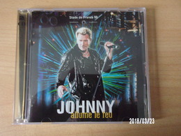 CD - Johnny Hallyday - Allume Le Feu Stade De France 1998 - Rock