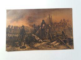 """Litografia A Colori / Color Litho. - Firmata """"F. RENDES , LIT. '909"""" - Scena Di Guerra Napoleonica - Lithographies"""