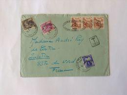 Let Suisse Taxée ( Tricolore) - Portomarken