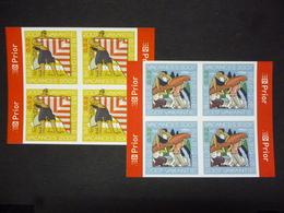 BELGIE 3667/68 BLOC V. 4 ONGETAND XX ( COB ) COTE : 80 EURO - Belgique