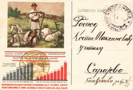 PS ZADRUGA 1939 - Postwaardestukken