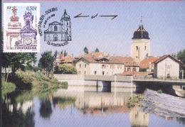 Pontarlier - Le Doubs Et L'Eglise - Pontarlier