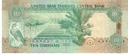 United Arab Emirates P.27  10 Dirhams 2013  VF+ - Emirati Arabi Uniti