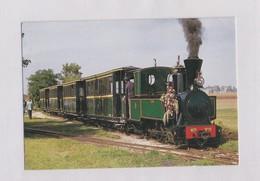 45 LOIRET , PITHIVIERS Train De Voyageurs Au Terminus De Bellébat - Pithiviers