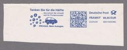 Deutschland 22.4.08  Freistempelstück - Tanken Sie Für Die Hälfte  Progas - - Cars