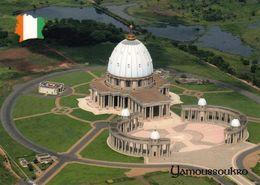 1 AK Elfenbeinküste Côte D'Ivoire * Basilika Notre-Dame-de-la-Paix (Unserer Lieben Frau Des Friedens) In Yamoussoukro - Costa De Marfil