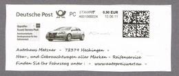 Deutschland 10.6.11  Freistempelstück - Suziki Autohaus Metzner - - Cars