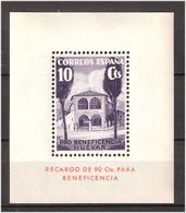 1936 HUÉVAR GÁLVEZ Bloc PRO BENEFICIENCY MH BONITO SPAIN - 1931-Today: 2nd Rep - ... Juan Carlos I