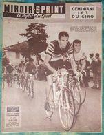 Miroir Sprint 625 26/05/1958 Cyclisme Giro Géminiani - Football Coupe D'Europe Di Stephano Kopa Yougoslavie - Rygby Albi - Sport