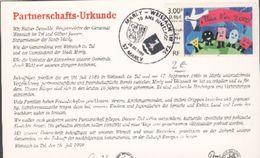 10 Ans De Jumelage De Marly Et Weissach IM TAL - Otros Municipios