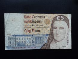 IRLANDE : 5 POUNDS  15.10.1999  P 75b   TTB - Ireland