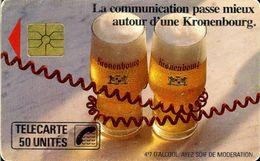 F0090A   09/1989 KRONENBOURG GRANDE FLÈCHE  50 GEM1A - Francia