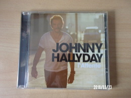 CD - Johnny Hallyday - L'attente - Rock