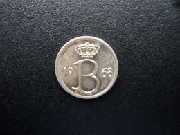 BELGIQUE : 25 CENTIMES  1968   KM 153.1   SUP+ - 02. 25 Centimes