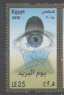EGYPT , 2018, MNH, POST DAY,1v - Post