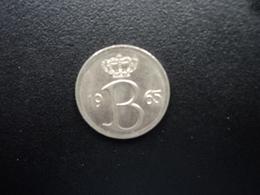 BELGIQUE : 25 CENTIMES  1965   KM 154.1   SUP+ - 02. 25 Centimes
