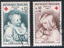 FRANCE : N° 1466 Et 1467 Oblitérés (Croix-Rouge) - PRIX FIXE : 1/3 De La Cote - - France