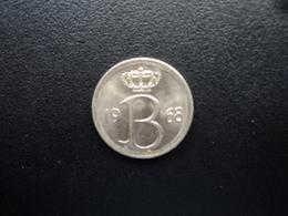 BELGIQUE : 25 CENTIMES  1968   KM 154.1   SUP+ - 02. 25 Centimes