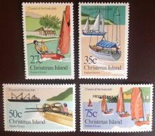 Christmas Island 1983 Boat Club MNH - Christmas Island