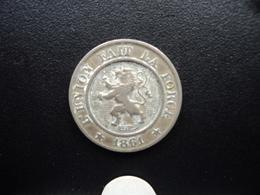 BELGIQUE : 10 CENTIMES  1861  KM 22   TTB - 1831-1865: Léopold I