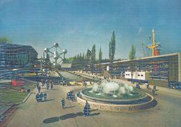 BRUXELLES-EXPOSITION UNIVERSELLE 1958-ATOMIUM-AVENUE DE BENELUX-expo 58-world Fair - Ausstellungen