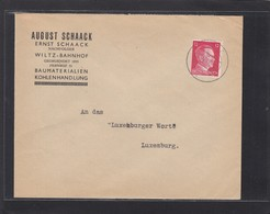 BAUMATERALIEN,KOHLENHANDLUNG.WILTZ-BAHNHOF. - 1940-1944 Deutsche Besatzung