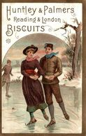 CHROMO BISCUITS HUNTLEY ET PALMERS PATINAGE - Confiserie & Biscuits