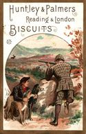 CHROMO BISCUITS HUNTLEY ET PALMERS CHASSE AU CERF - Confiserie & Biscuits