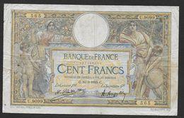"""100 Francs  """" L.O. Merson """"  Du  16 - 3 - 1923 - 1871-1952 Anciens Francs Circulés Au XXème"""