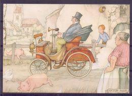 Nederland - Illustrators - Anton Pieck - Ongebruikt - 033 -  2 Scans - Künstlerkarten