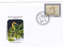 Slovenia 1 FDC + 1 St.  Dinosaurs - Préhistoriques