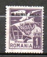 ROUMANIE  P Aérienne  Avènement Du Roi Charles II 1930 N°4 - Aéreo