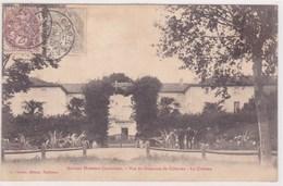 Affaire Humbert Crawford Vue Du Domaine De Celeyran Le Chateau Groupes D Hommes Devant - France