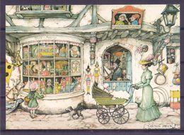 Nederland - Illustrators - Anton Pieck - Gebruikt  -  2 Scans - Illustrators & Photographers