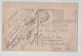 Souvenir Du CASCOL  Comité Lyonnais Basket Ball Central Bar Lyon 1938 Paupau Colombatto Branche - Autographs