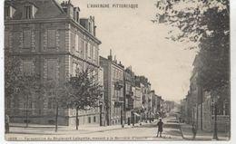 CLERMONT FERRAND BOULEVARD LAFAYETTE MENANT A LA BARRIERE D ISSOIRE  1915 - Clermont Ferrand