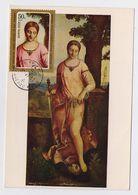 CARTE MAXIMUM CM Card USSR RUSSIA Art Painting Italy Painter Giorgione Judith - 1923-1991 UdSSR