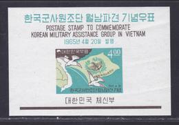 COREE DU SUD BLOC N°   92 ** MNH Neuf Sans Charnière, TB (CLR236) Aide Au Vietnam - Corée Du Sud