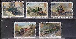 GREAT BRITAIN Scott # 1093-7 MNH - Trains - 1952-.... (Elizabeth II)