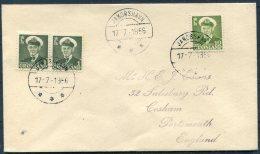1956 Greenland Jakobshavn Cover - Covers & Documents