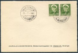 1962 Greenland Skjoldungen Postcard - Covers & Documents
