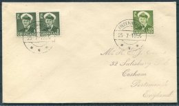 1956 Greenland Frederikshab Cover - Briefe U. Dokumente