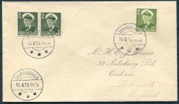 1955 Greenland Danmarkshavn Cover - Covers & Documents