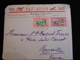 Enveloppe 1930 France Sénégal Par Avion Dakar   Lettre  CL18 - Marcophilie (Lettres)
