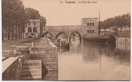 TOURNAI   LE PONT DES TROUS - Doornik