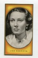 SB00127 BUNTE FILMBILDER - Bild Nr. 61 Lida Baarova - Cigarette Cards