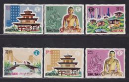 BHOUTAN N°   54 à 59 ** MNH Neufs Sans Charnière, TB (D6068) Exposition De New-York, Pagode, Bouddha - Bhutan